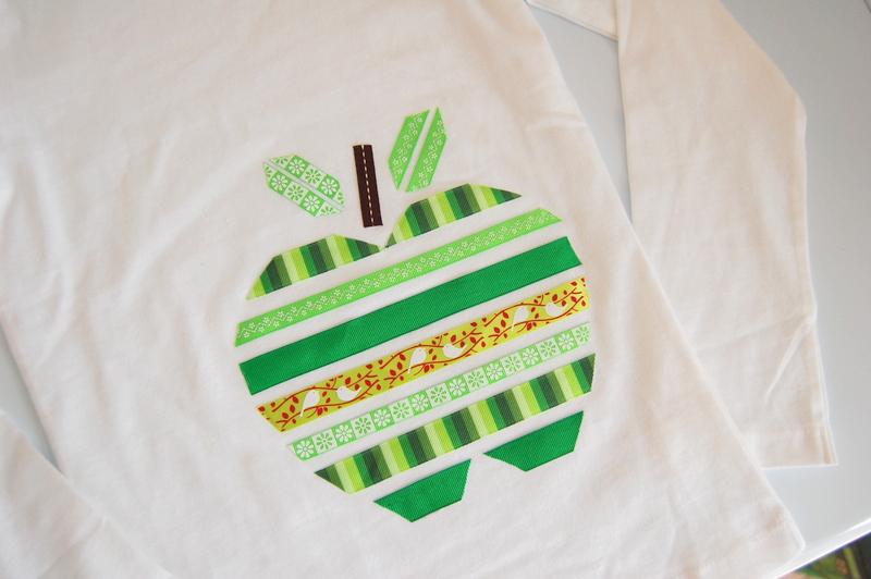 DIY Apple T-shirt 2