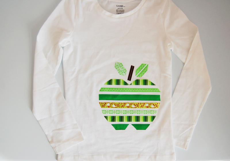 DIY Apple T-shirt
