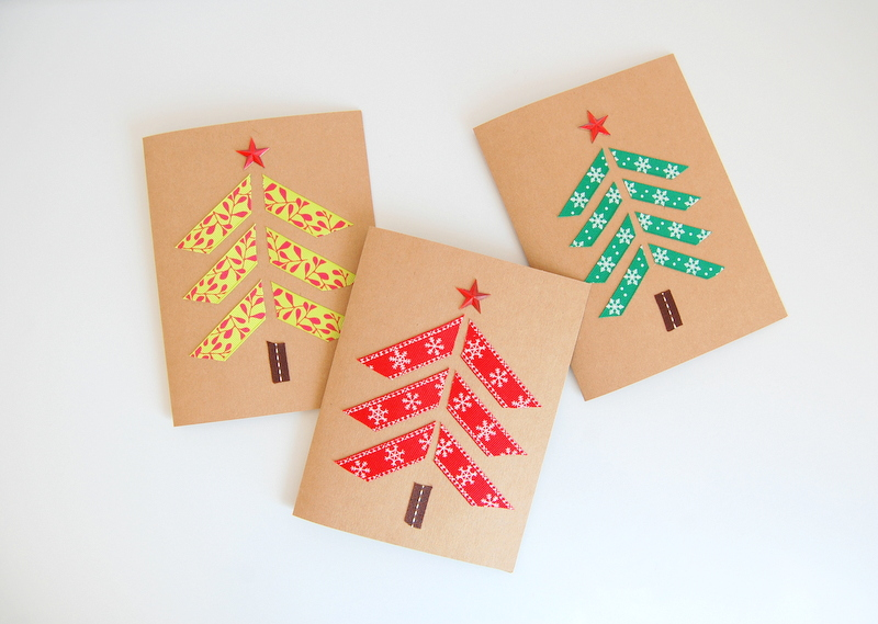 Ribbon Christmas Cards - northstory