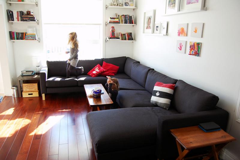 IKEA karlstad corner sofa (2)