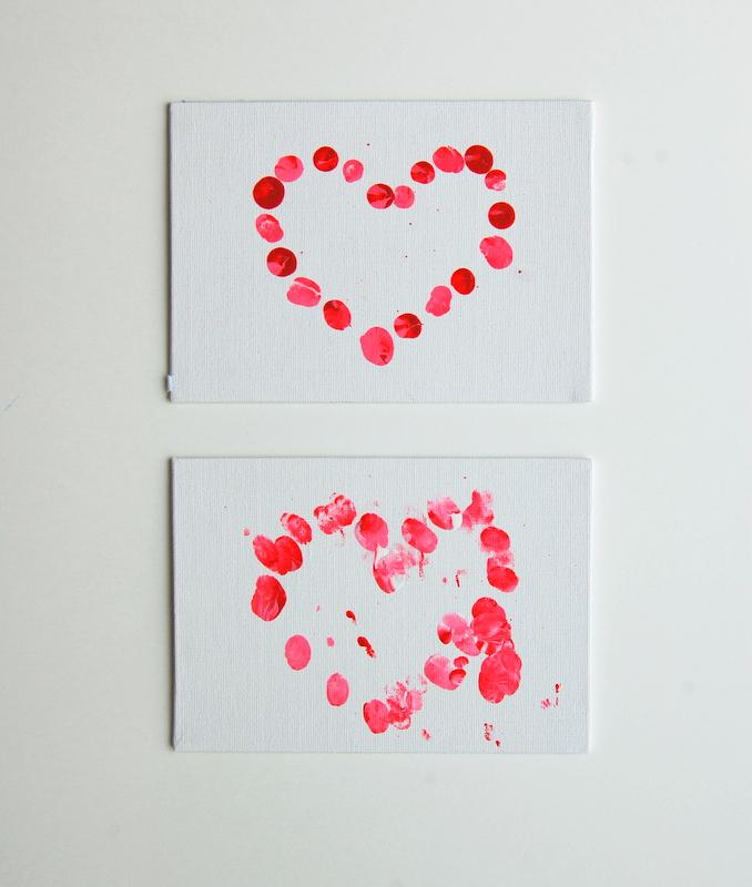 DIY Valentines Fingerprint heart (2)
