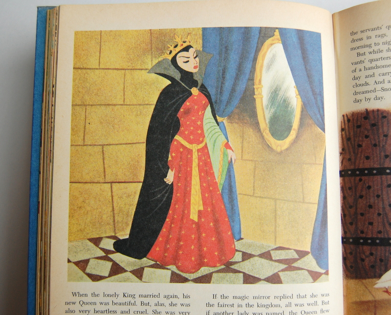vintage evil queen disney