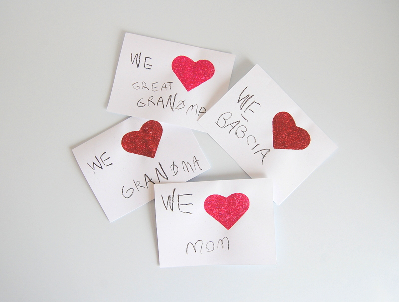 Mothers Day Card Craft Kids