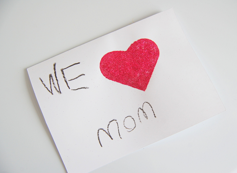 Mothers Day Card Craft for Kids