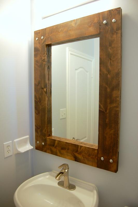 DIY Rustic Mirror