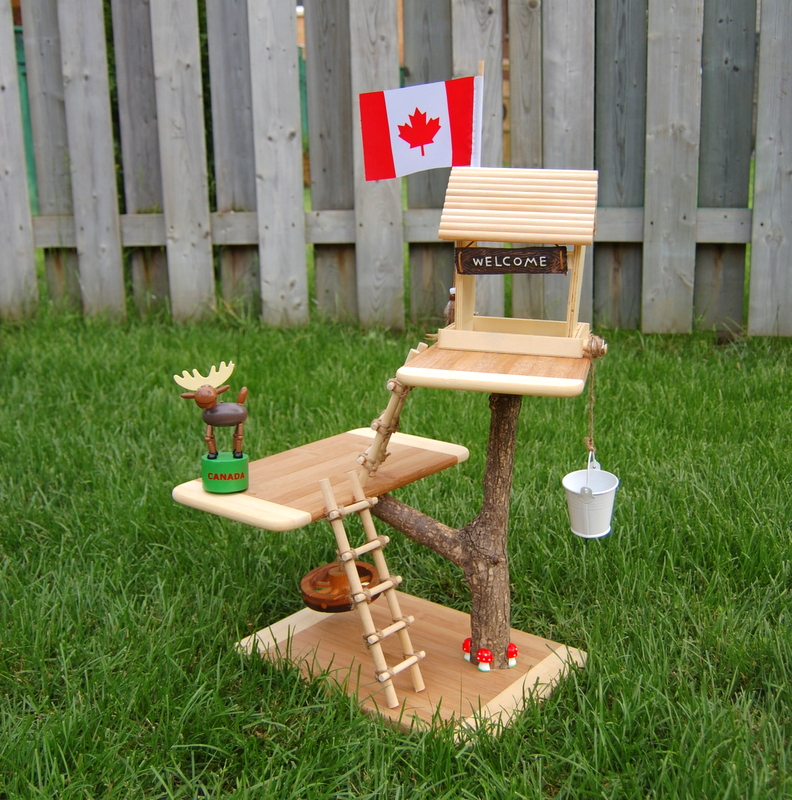 DIY Toy Treehouse