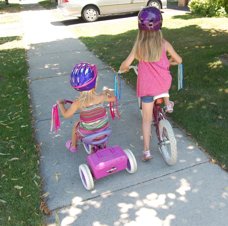 DIY - bike streamers