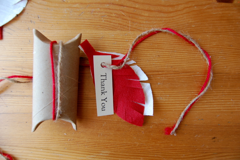 making a toilet paper roll gift box - northstory
