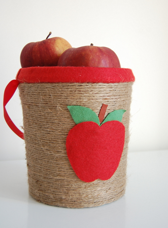 Apple picking bucket