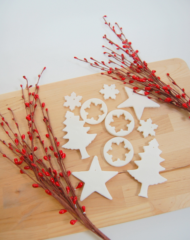 Baking Soda Dough Ornaments for Christmas