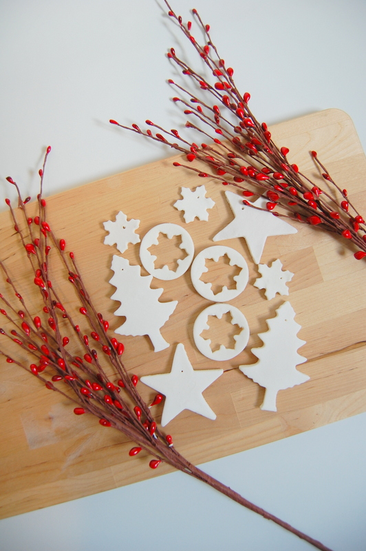 Baking Soda Dough Ornaments