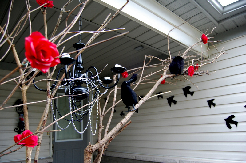 Branches Front Porch Halloween