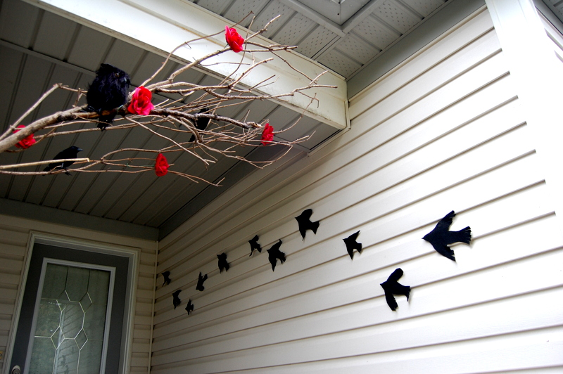 Crows Halloween Decor