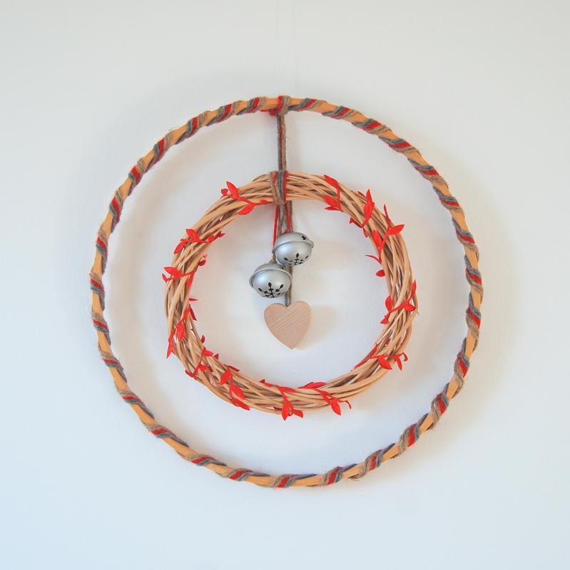 DIY Scandinavian Influenced Wreath