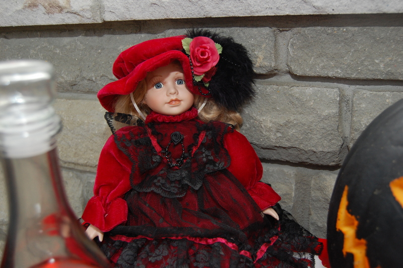Gothic Alice in Wonderland Doll