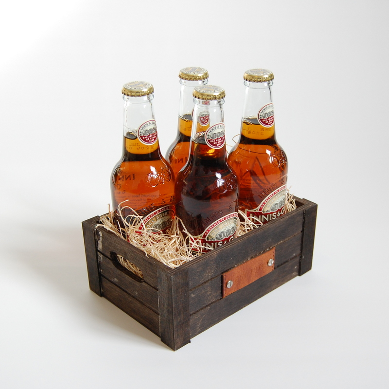 Personalized beer crate