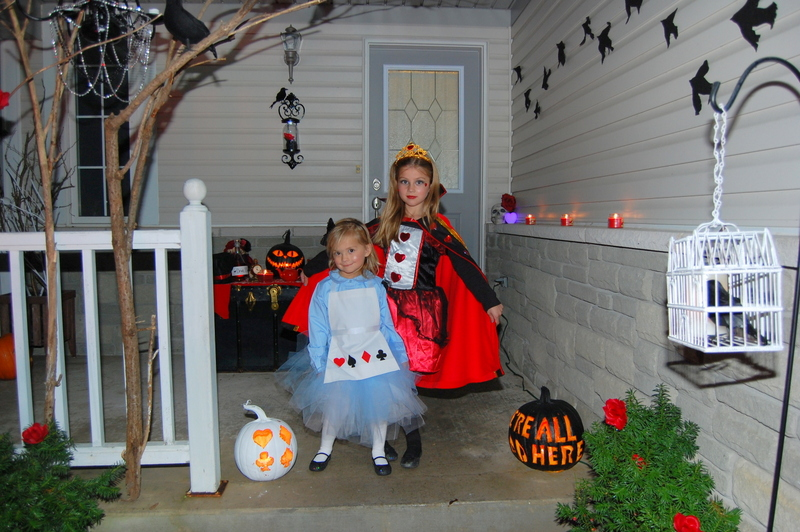 Wonderland Costumes Front Porch Halloween