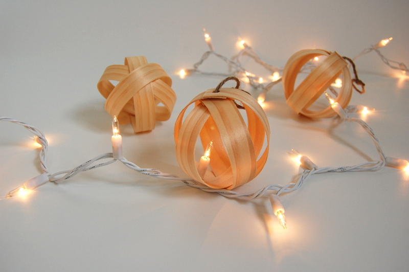 Wood Christmas Ornaments