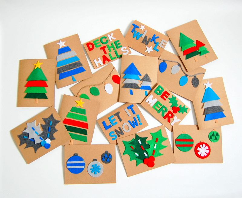 DIY Christmas Cards - northstory