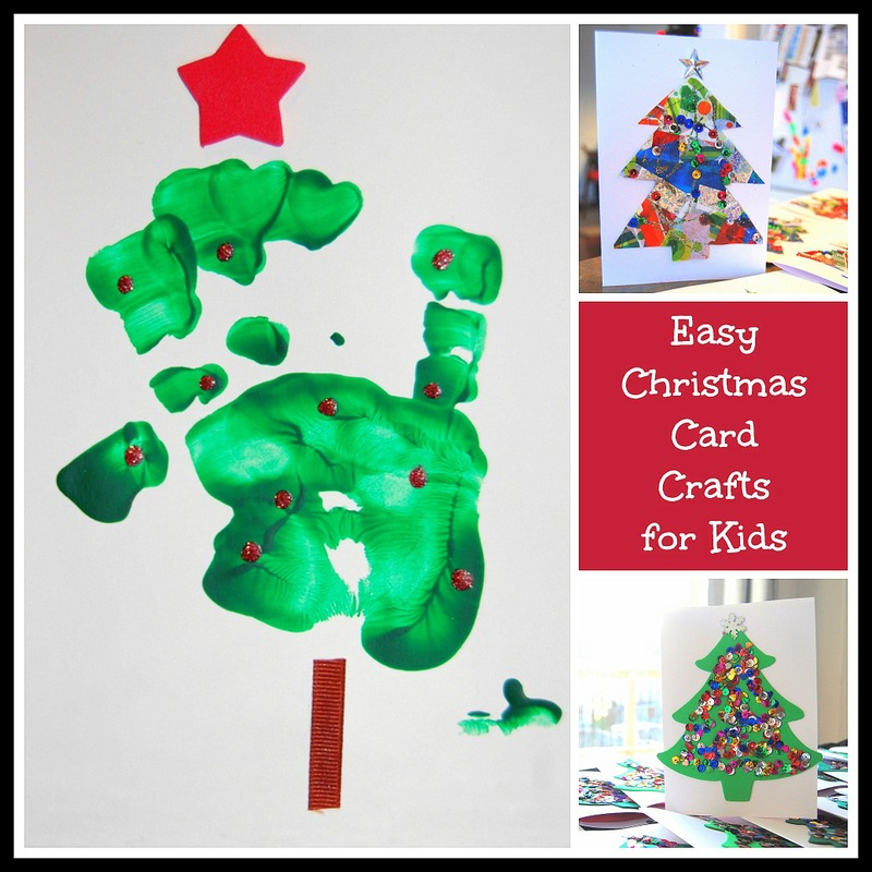 Easy Christmas Card Crafts for Kids - northstory.ca