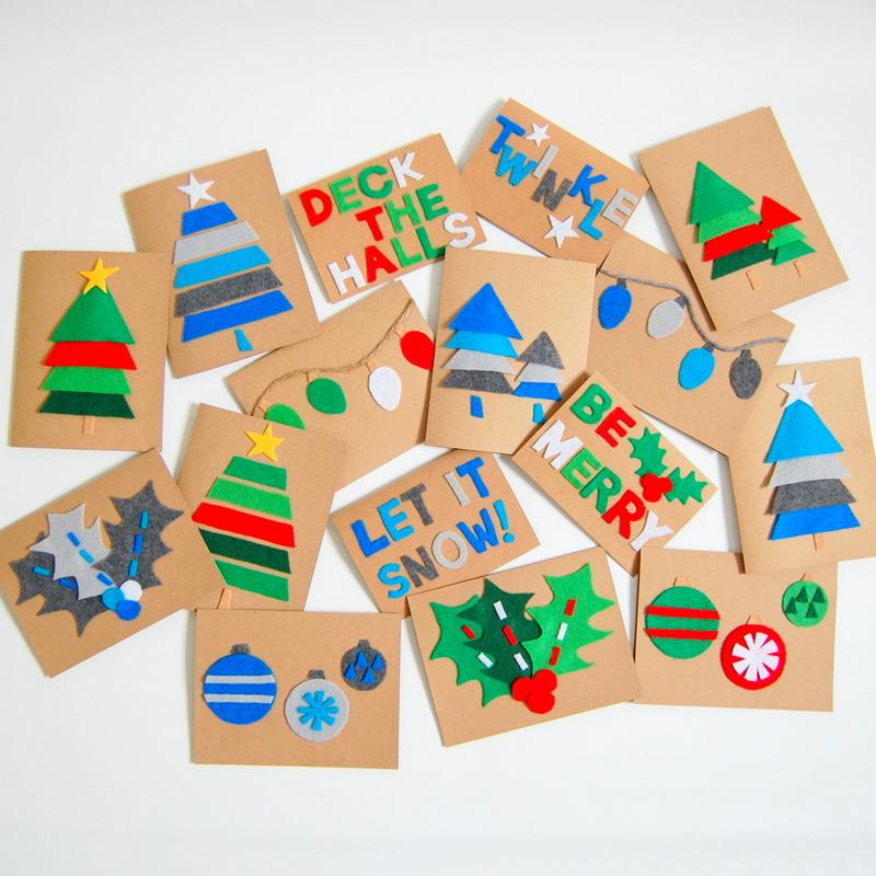 Felt Christmas Cards - northstory