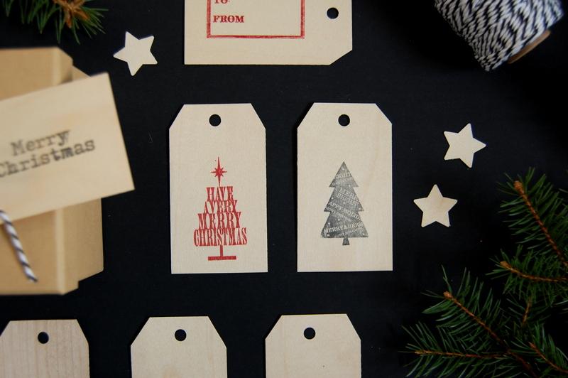 Stamped Wood Veneer Gift Tags - northstory