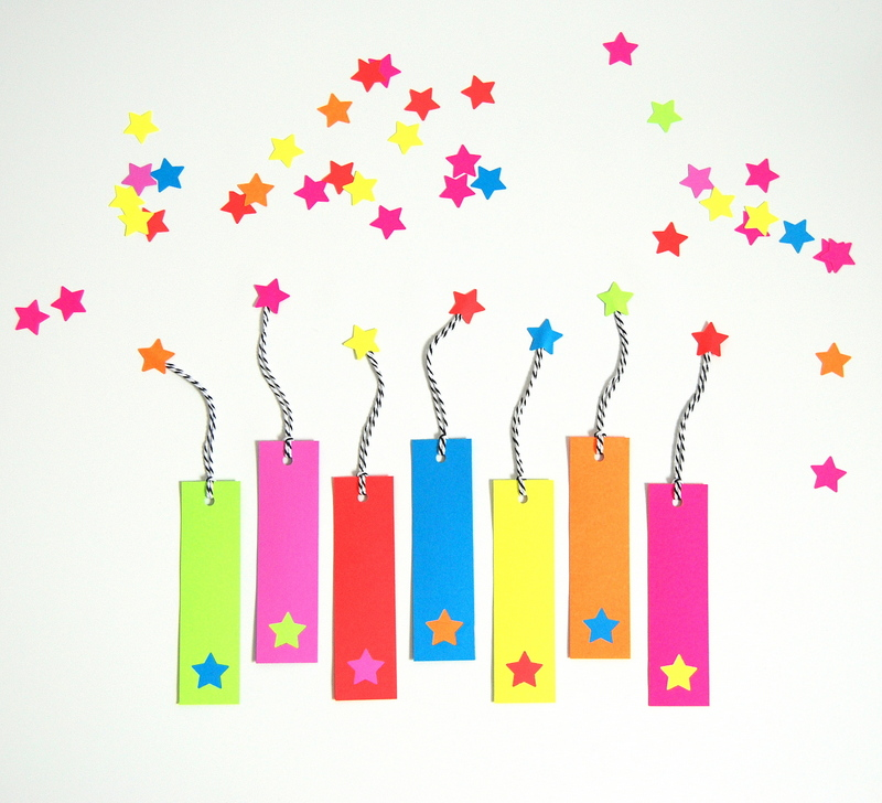 Candy Free Valentines - Bookmarks - northstory.ca