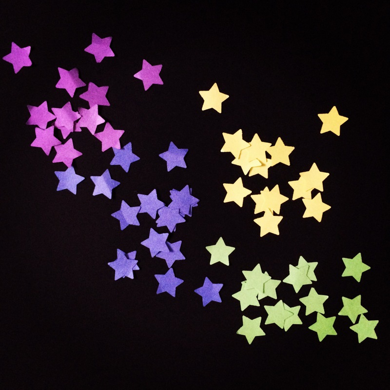 Counting Paper Stars - my goal for 2014 - northstory.ca