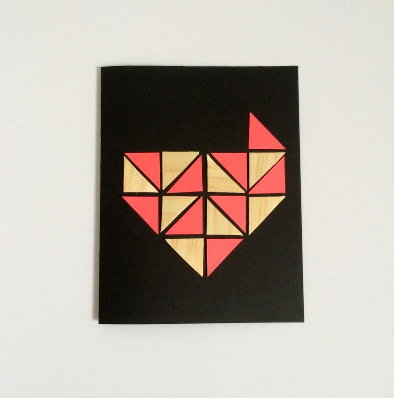 Geometric Heart - Step 4 - northstory.ca