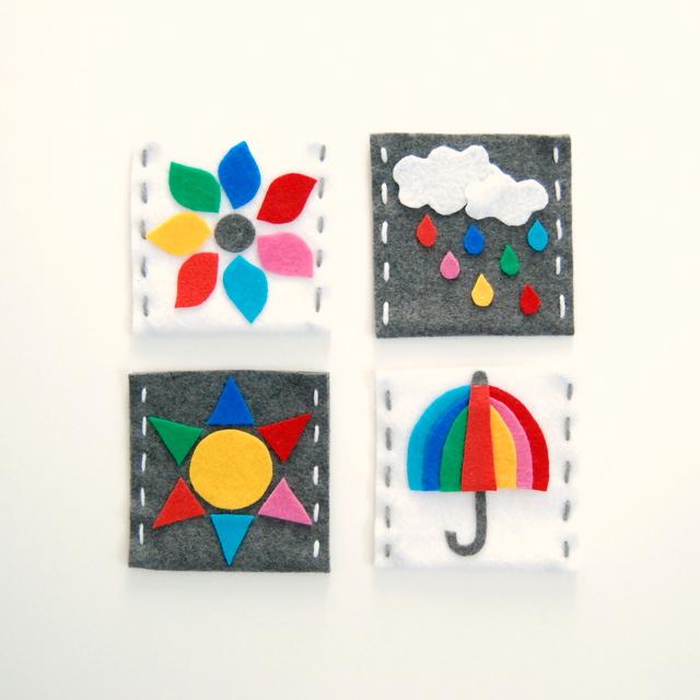 Felt Gift Cards bags - northstory.ca