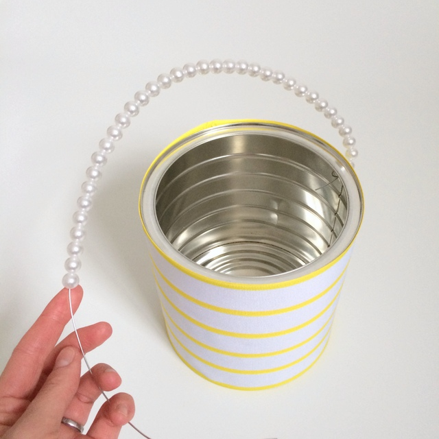 Making an easter basket from an old coffee can - northstory