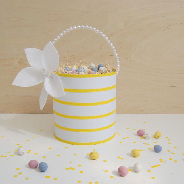 Upcycled Easter Basket - northstory.ca