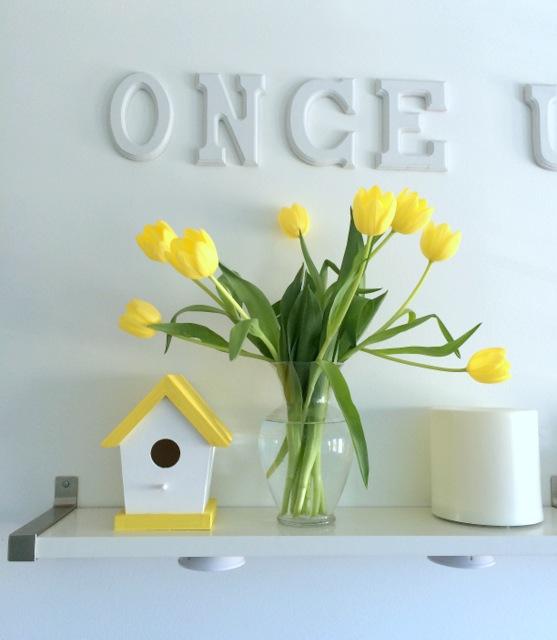 Yellow Decor & Birdhouse - northstory.ca