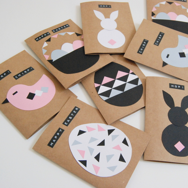 Easter Card Craft - northstory.ca