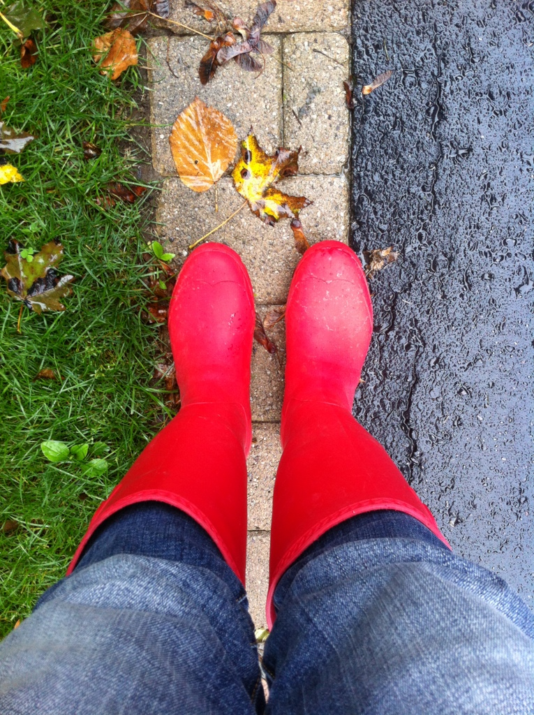 Kamik Jennifer Red Rainboots - northstory.ca