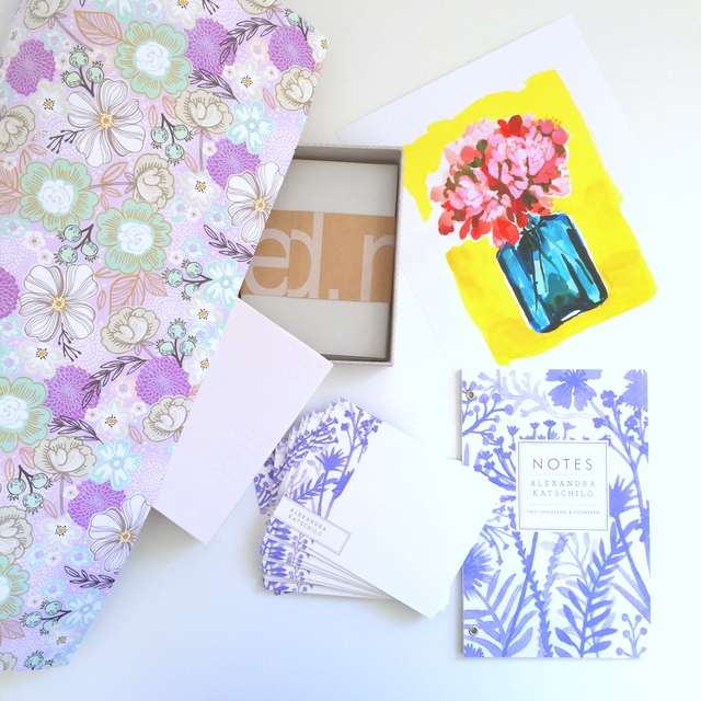 Minted presents