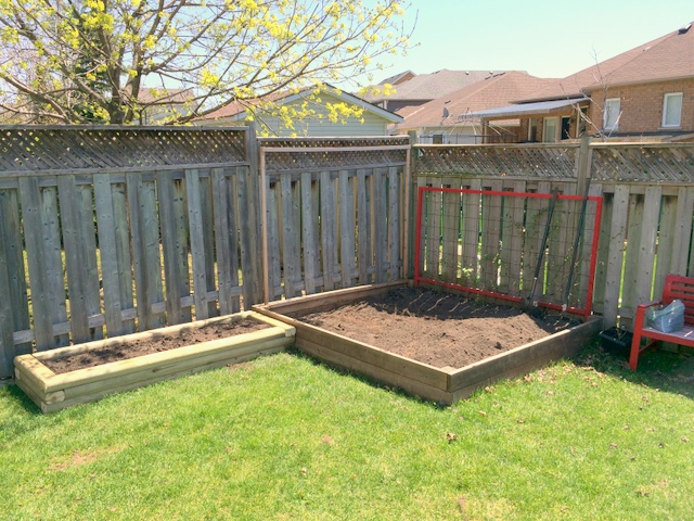 Backyard vegetable garden - northstory.ca