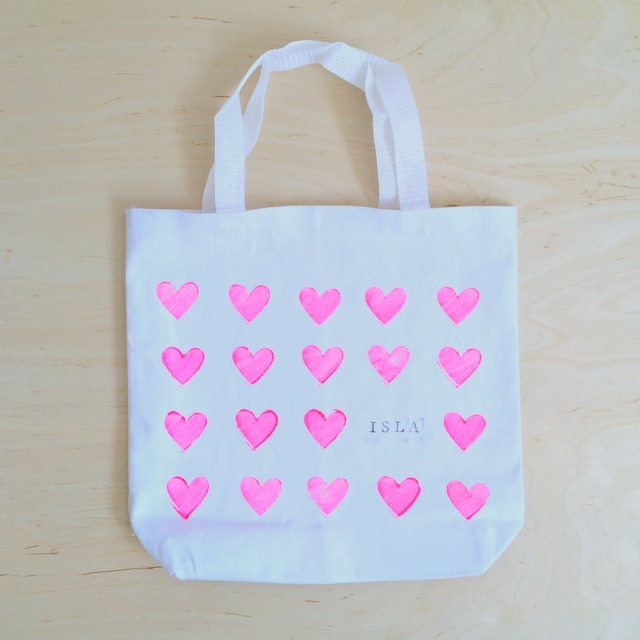 How to make a personalized stamped canvas tote bag - northstory.ca