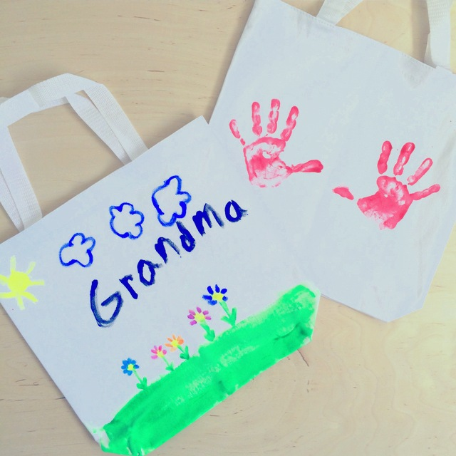 Mothers Day Craft for kids- Canvas Tote Bag - northstory.ca