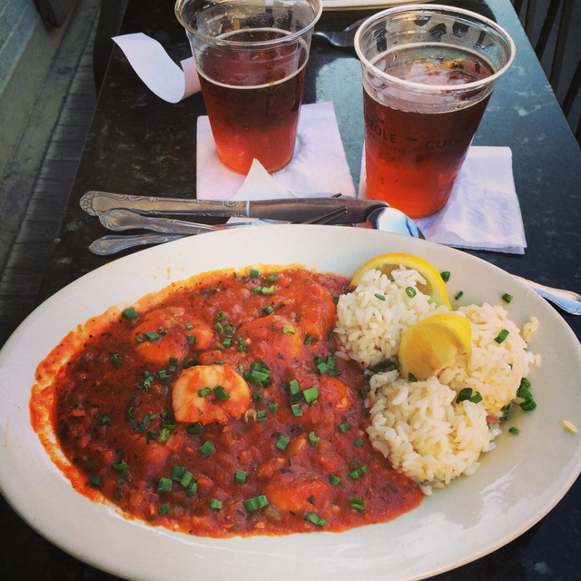 Shrimp Creole at the Royal House French Quarter New Orleans - northstory.ca