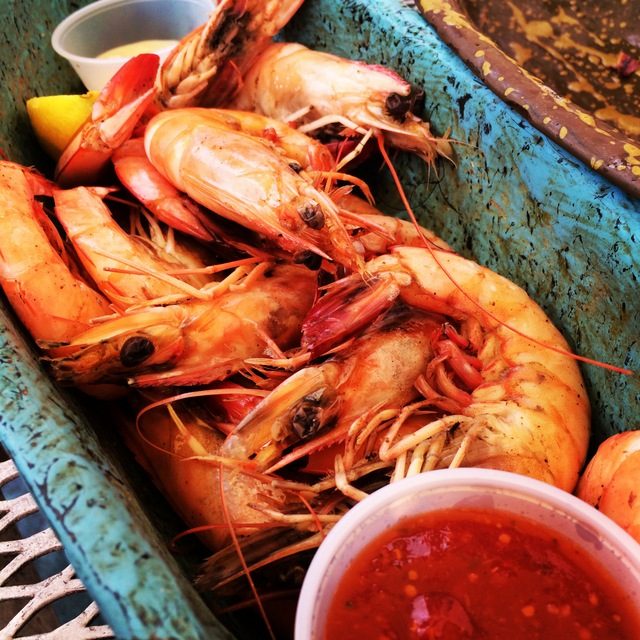 Shrimp dinner in the French Quarter New Orleans - northstory.ca