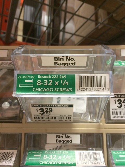 Chicago Screws at Home Depot - northstory.ca
