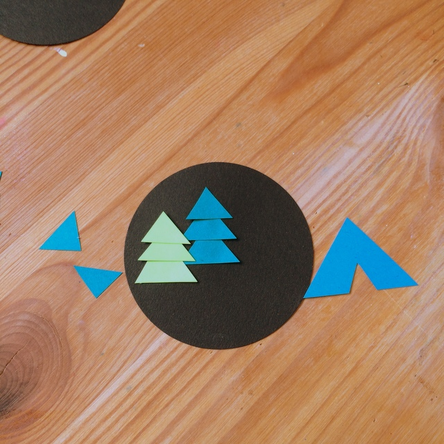 Cutting out camping symbols - northstory.ca