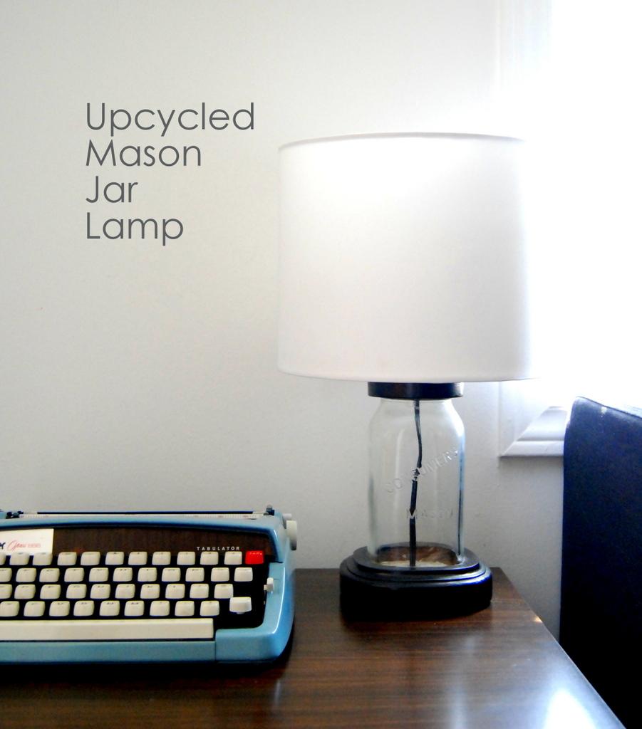 DIY Mason Jar Lamp - northstory.ca