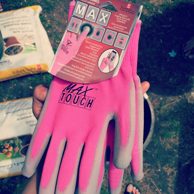 Gardening Gloves you can text with - northstory.ca