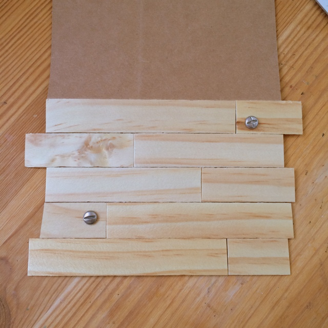 Making Father's Day Cards out of wood veneer - northstory.ca