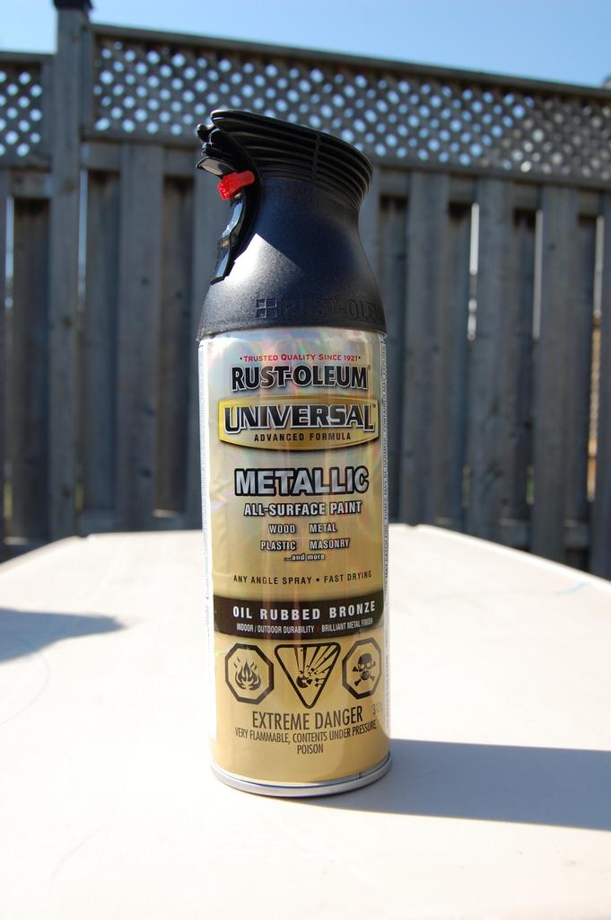 Rustoleum Oil Rubbed Bronze - northstory.ca