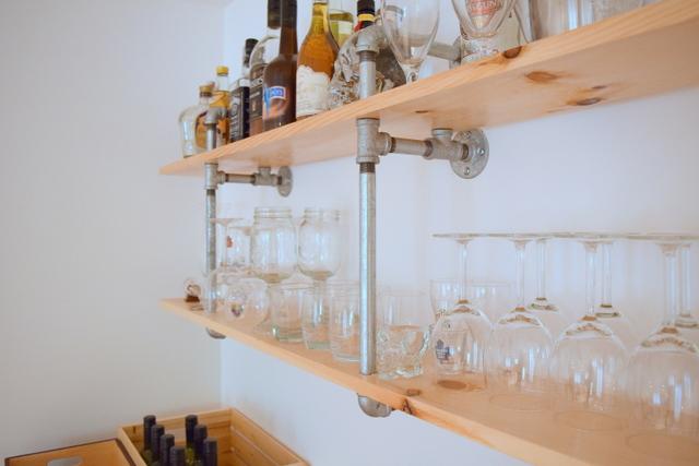DIY Pipe Shelves - northstory.ca