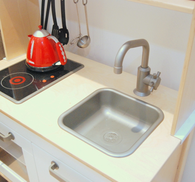 IKEA DUKTIG sink in kitchen - northstory.ca