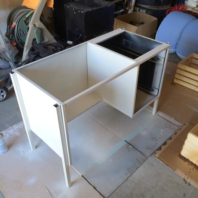 Painting a metal desk - northstory.ca